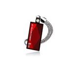 【レッド】 SILICON POWER(シリコンパワー) USBフラッシュメモリ TOUCH 810 Series 8GB