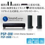 【ブラック】 Princeton Dual Way Speaker (USB給電PC用スピーカー) ブラック PSP-DWB