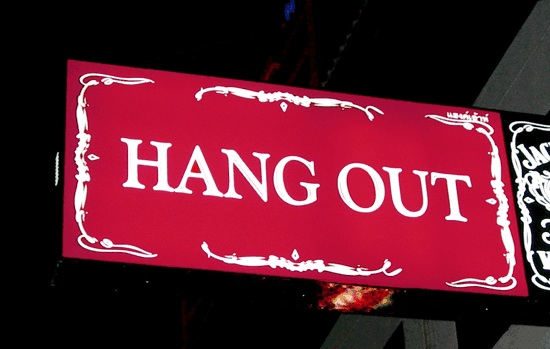 HANGOUT IS OPEN