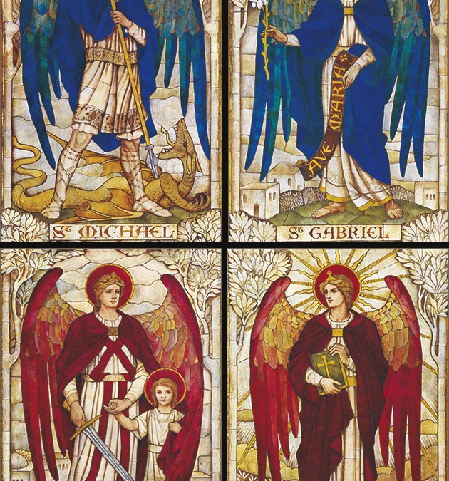 Four angels, preliminary thoughts.