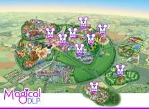 Paris Disneyland Hotel Map