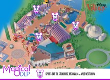 Disney Village Disneyland Paris Map
