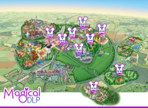Paris Disneyland Hotel Map