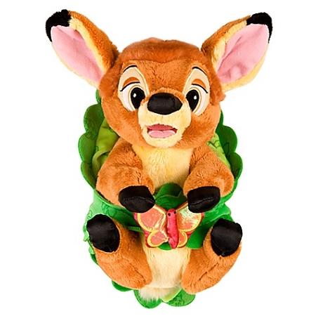 Disneys Babies Plush Bambi Plush Toy And Blanket