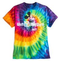 Disney Shirt for Adults - Mickey Mouse Tee - Tie-Dye ...