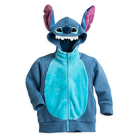 kids pretend kitchen 4 chairs disney zip hoodie for - stitch character
