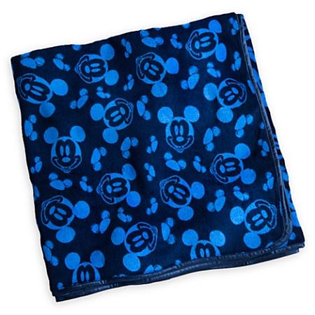 Disney Travel Blanket  Mickey Mouse Throw Blanket