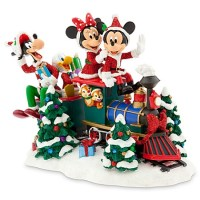 Disney Christmas Figure - Santa Mickey Mouse and Friends ...