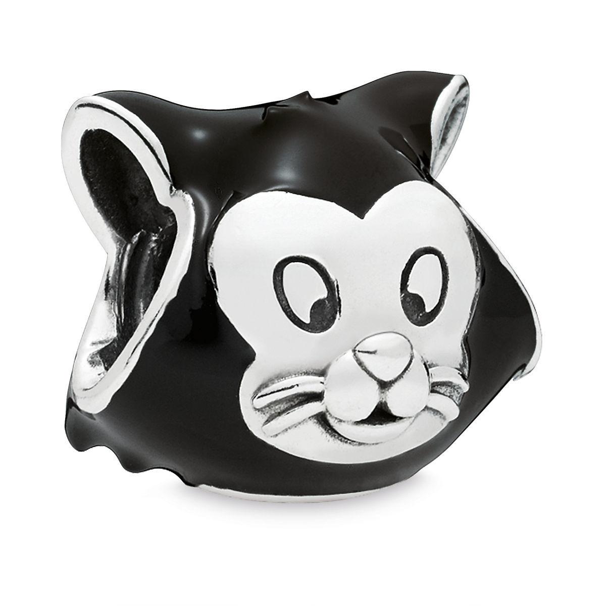 Disney Pandora Charm Figaro Cat Pinocchio