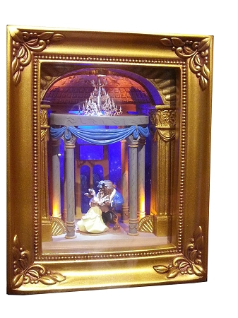 beach kitchen decor small furniture disney gallery of light - beauty and the beast dancing by ...