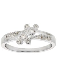 Disney Ring - Mickey Siamese Icons - Sterling Silver