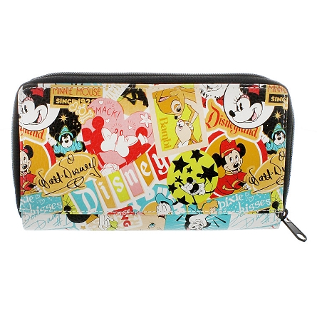 disney wallet classic collage