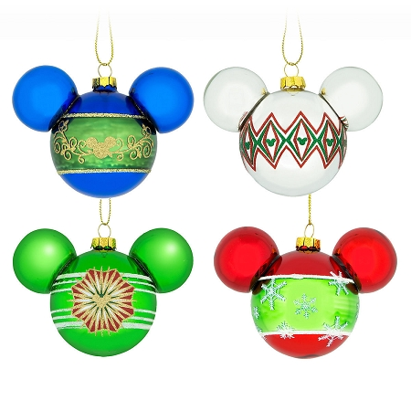 Disney Christmas Ornament Set