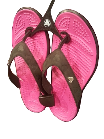 Disney Sandals for Women  Crocs  Mickey Mouse Icon  Pink