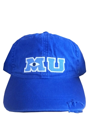 play kitchen for toddler paint or stain cabinets disney hat - baseball cap monsters university mu blue