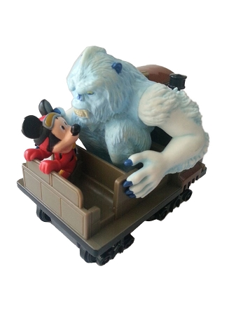 Disney Pull Back Toy  Expedition Everest  Mickey Mouse