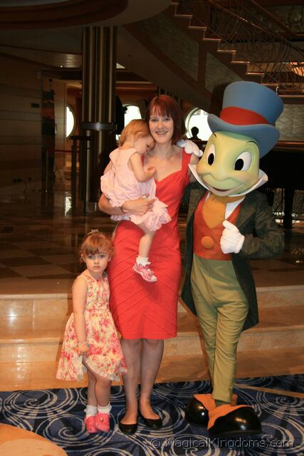 Meeting Characters on the Disney Dream  Disney Blog at