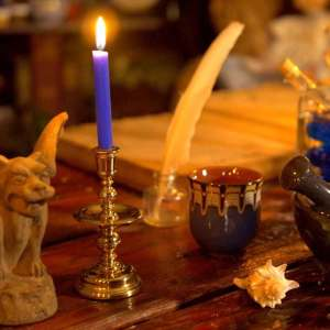 Learn more about blue chime candles