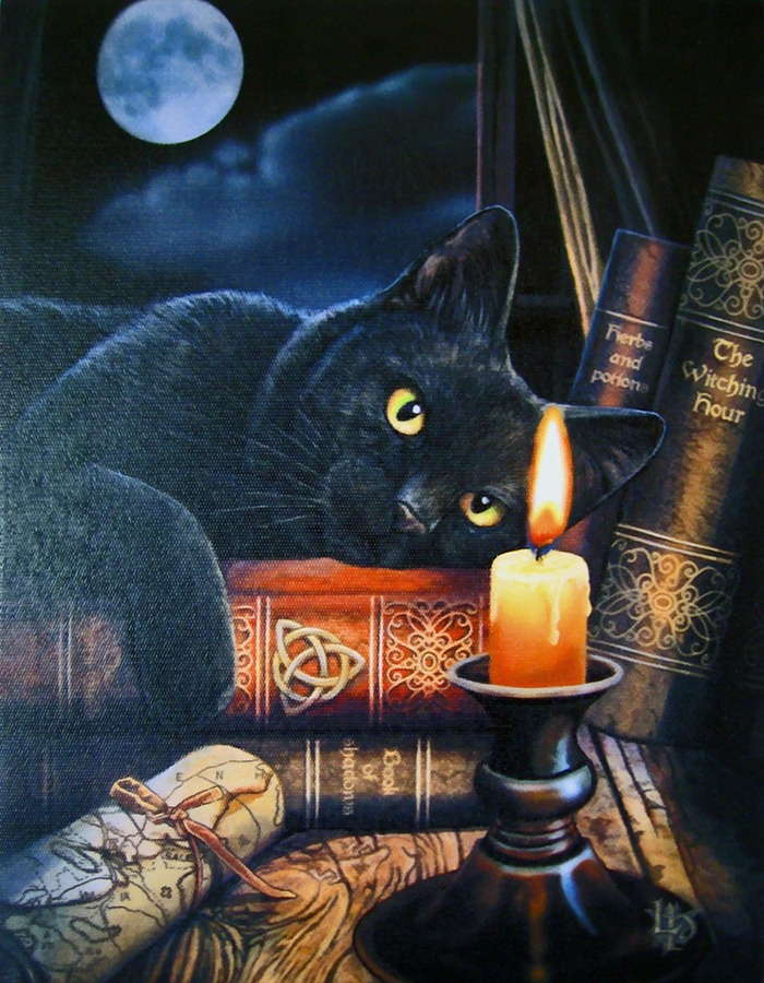Witching Hour Canvas Art Print By Lisa Parker WPWH