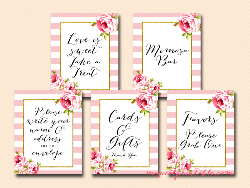 photo relating to Printable Bridal Shower Signs named Marriage Signs or symptoms, Bridal Shower Indicators, Child Shower Symptoms