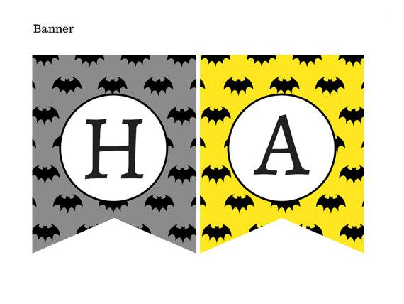 Batman Birthday Pack Magical Printable