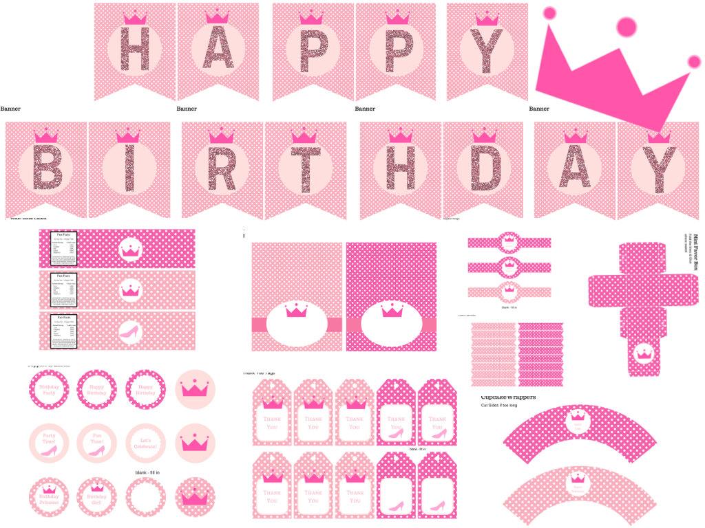 Princess Birthday Pack