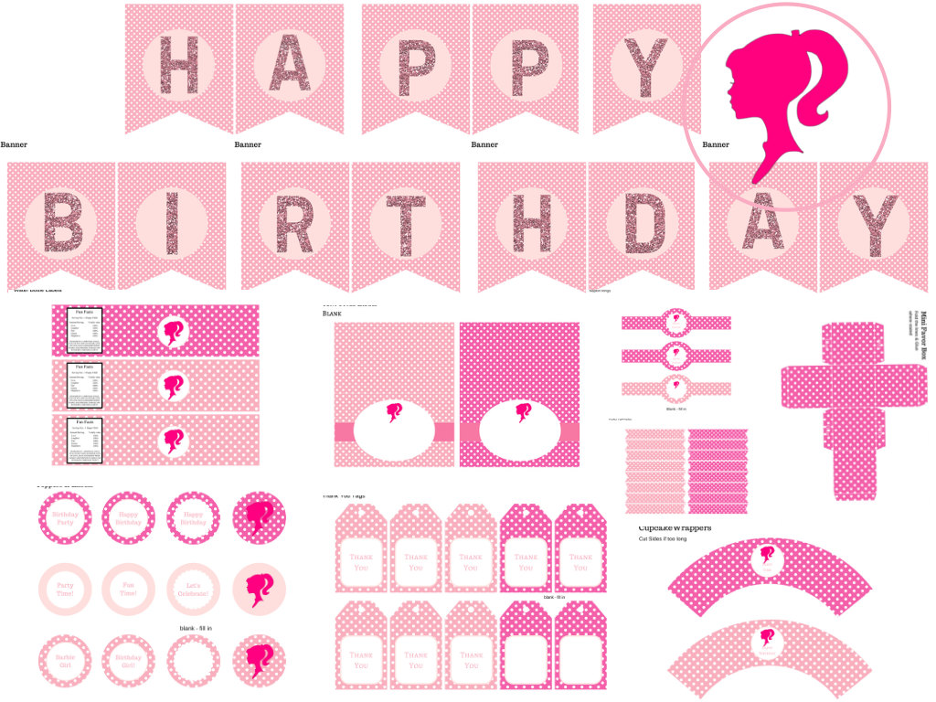 Barbie Birthday Pack
