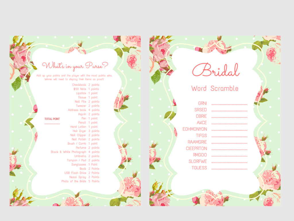 bridal shower games printable bridal shower games bridal shower game prizes unique bridal