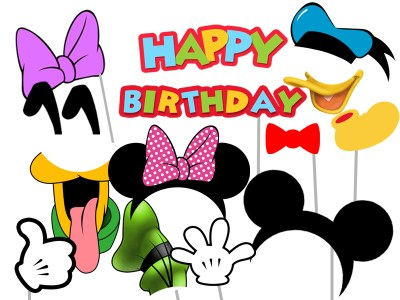 Mickey Mouse & Friends Birthday - Magical Printable