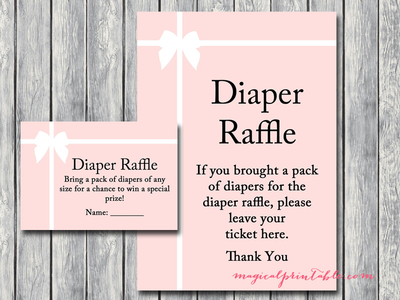 Tiffany Pink Baby Shower Games - Magical Printable