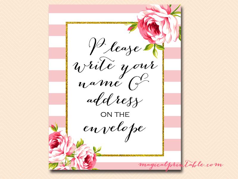 Editable Bridal Shower Invitation Cards
