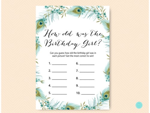 birthday party games archives magical printable