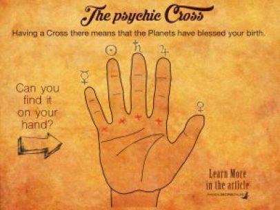psychic cross palmistry