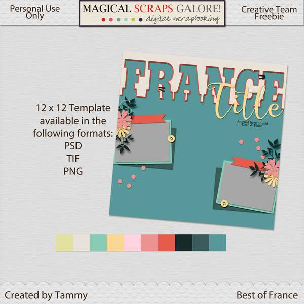 New this week: BEST OF FRANCE, plus two fabulous freebies!