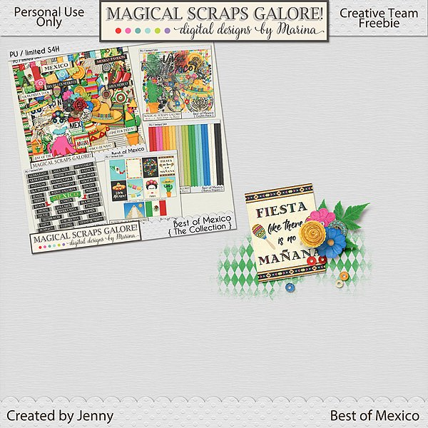 New travel collection: BEST OF MEXICO! (and a fun freebie for you)