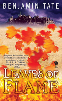 Leaves of Flame, by Benjamin Tate