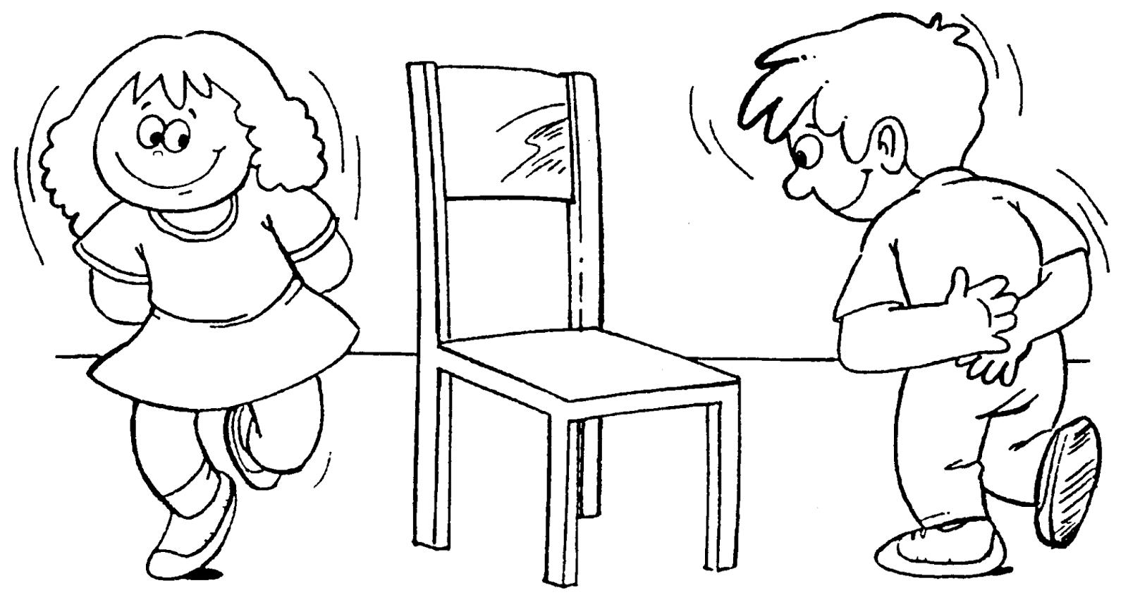 imagens para colorir crian as brincando de pega pega