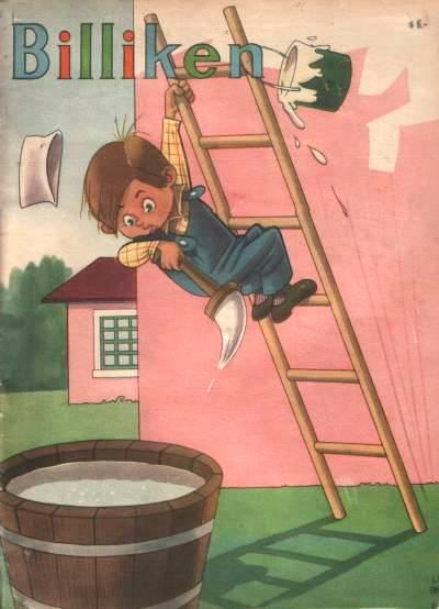 Revista Infantil Billiken 1960 Dibujo de Lino Palacio nene