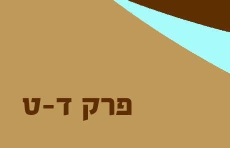 סיכום מלכים א פרקים ד-ט