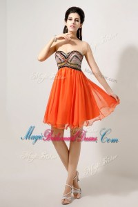 Red And Orange Bridesmaid Dresses - Flower Girl Dresses