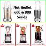 Nutribullet Compatible 32oz / 900ml Extra Large Tall Cup fits 600w & 900w Models.