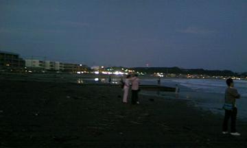 由比ヶ浜の海 其の弐