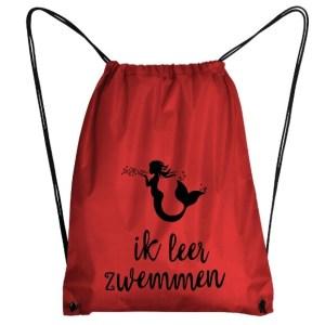 zwemtas zeemermin rood