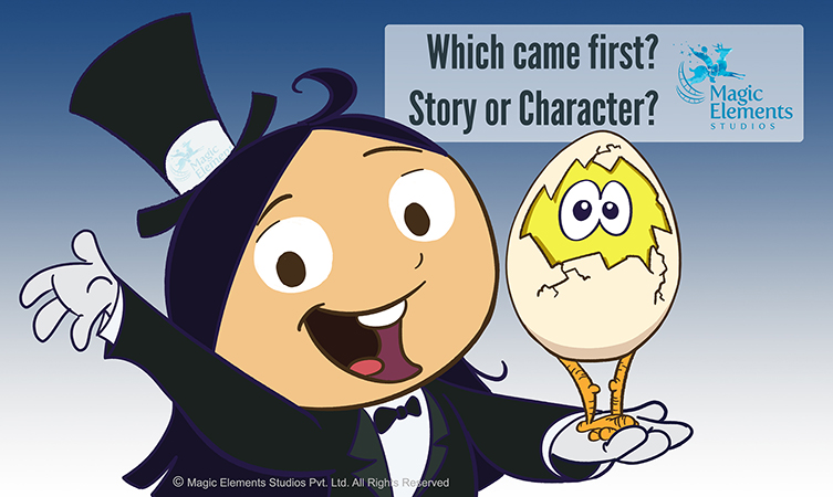 What is more important ? Story, Character ?