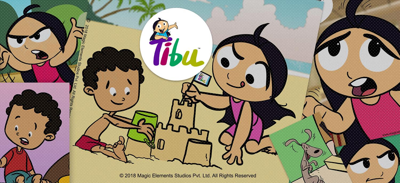 Tibu Comics from Magic Elements Studios