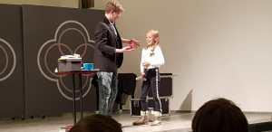 Une photo ou le magicien a présenté un spectacle de magie à Arlon Christian Lavey présente ses show de magie à Arlon et alontours.