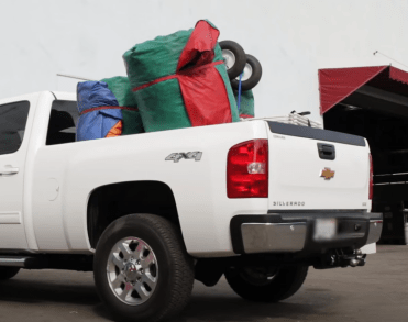How to load inflatables into your pickup truck.