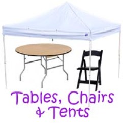 Places To Rent Tables And Chairs Childrens Wooden Chair With Rush Seat Downey Party Planning Event Ca Magic Jump Rentals