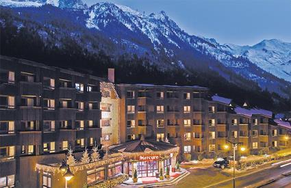 Hotel Mercure Chamonix Centre 3   Chamonix MontBlanc  Haute Savoie  Magiclub Voyages