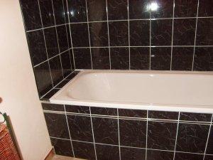 Blog de magicmanu :Aménagement de notre maison, Carrelage de baignoire